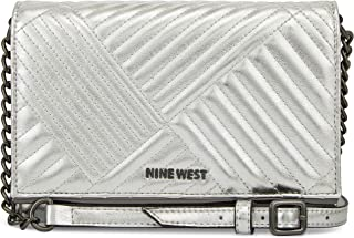 Nine West 斜挎包 银色