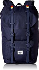Herschel Supply Co. Little America 中性 双肩背包 10014-01867 水手蓝/彩虹色 35 * 29 * 52cm