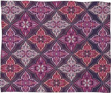 Deny Designs 羊毛抱毯 Provencal Lavender 5 80 by 60-Inch 13028-flelar