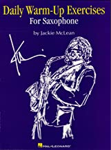 Daily Warm-Up Exercises for Saxophone (English Edition)