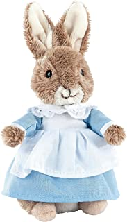 Beatrix Peter Rabbit Mrs Rabbit 毛绒玩具 - 小号