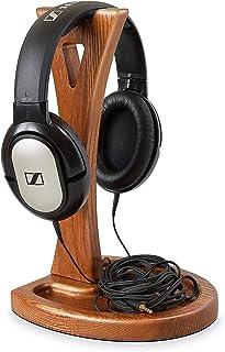 木制耳机支架 - 耳机支架 - 木头耳机架 - 游戏耳机支架 - 耳机架 - 适合所有耳机显示