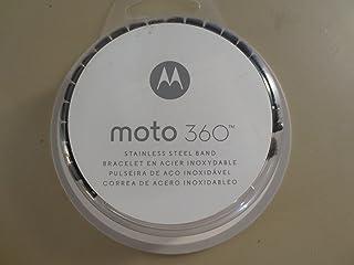 Motorola Moto360 金属表带 - 23 毫米深色金属[只有表带]