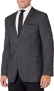 Perry Ellis 男式纯色弹力西装外套