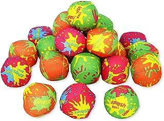 水溅球 - 泳池散装,夏季派对喜爱海滩浸泡炸弹水游戏儿童玩具 - 24 件
