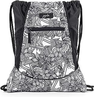 JuJuJuBe Grab and Go String 背包 | 轻质抽绳背包,可调节肩带,旅行健身包,带高科技口袋,适合儿童和成人 | 素描