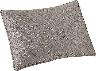 Brielle 篮织枕套套装 灰色 标准 807000224319