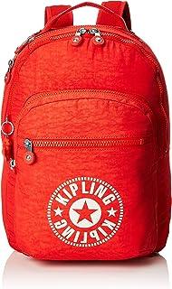 Kipling 凯浦林 Clas Seoul 通用学生书包 双肩包,Red (Active Red Nc),45 cm