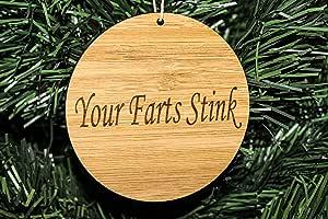 BlueApe 成人装饰格格 趣味圣诞节 Your Farts Stink