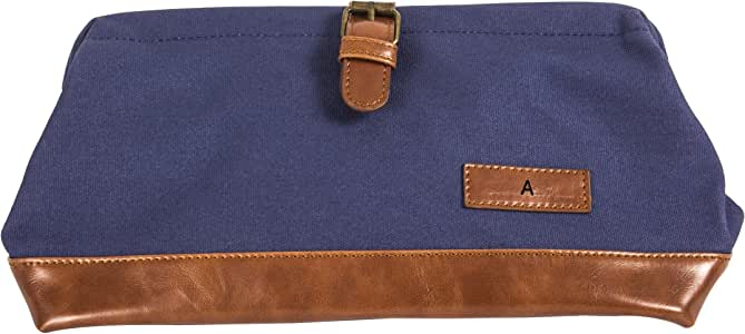 Cathy's Concepts 2530N-A Letter a Travel Dopp Kit, Navy