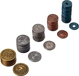 Scythe Metal Coins Stonemaier Games Board Game Addon Accessory STM605