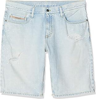 Calvin Klein Jeans 男士修身短袖复古喷水机