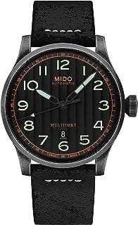 Mido Multifort 自动黑色表盘男式手表 M032.607.36.050.09