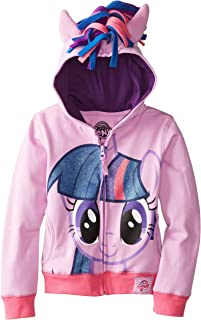 My Little Pony 女童 暮光之城耀服装帽衫 长袖