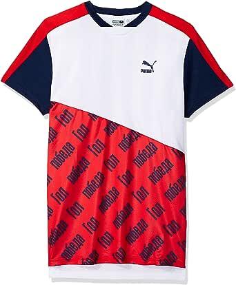 PUMA 男式世界杯 T 恤 白色(Puma) X-Large