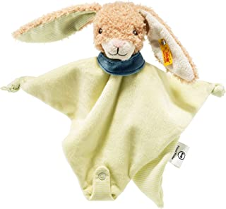 Steiff Friend-Finder 兔子被带生锈海绵,米色/绿色