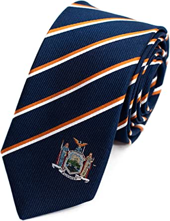 Best Country and US State Inspired Ties, 100% Woven Silk