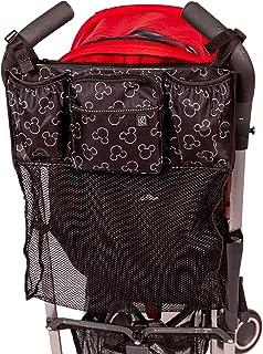 J.L. Childress Disney 迪士尼婴儿杯 'N Cargo 通用婴儿车收纳盒和配件,米奇黑