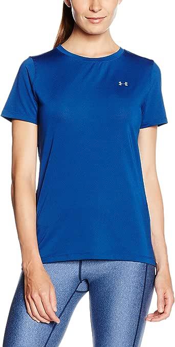 Under Armour 安德玛 UA女子 HG Armour SS 运动短袖T恤 S 1285637-480 (亚马逊自营 保税区发货)