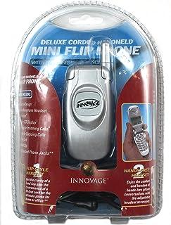 innovage 迷你 corded 家庭翻盖手机带电话号码 & 显示 单瓶装