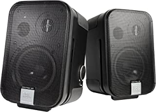 JBL Control 2P 紧凑型供电显示器C2PS  Master + Extension speaker 13.50 x 8.00 x 14.00 inches
