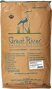 Great River Organic Milling Organic 25 lbs bag