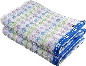 Imabari-towel 浴巾 2 條裝 藍色 約60x120cm -
