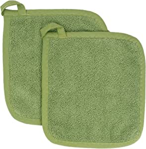 Ritz Royale Collection Pot Holder Set, Cactus, 2-Piece