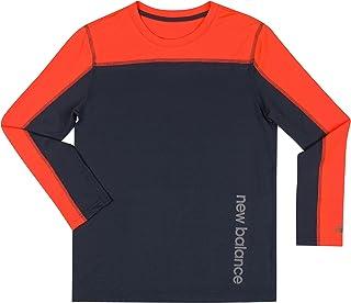 New Balance 男童长袖性能 T 恤