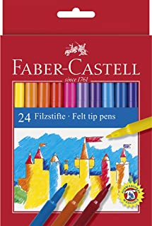 Faber CASTELL–纸板盖带笔学校