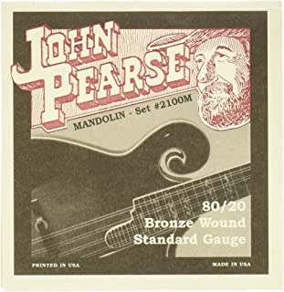 John Pearse P2100M 青铜原声吉他弦,中号