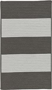 Colonial Mills Newport 纹理条纹编织地毯