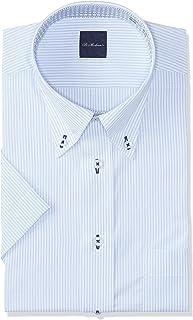 FLEXJAPAN 設計感襯衫 短袖 吸水速干易干 定型加工 DHSM70 男士