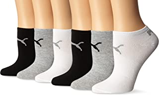 PUMA 女式6件装低帮袜