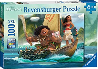 ravensburger Disney moana ONE 海洋 ONE 心形拼图(100件)