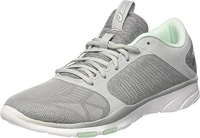 ASICS 女式 gel-fit Tempo 3运动鞋 Grey (Midgrey/silver/bay) 3.5 UK