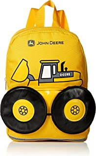 John Deere Boys' Toddler Backpack 黄 One Size