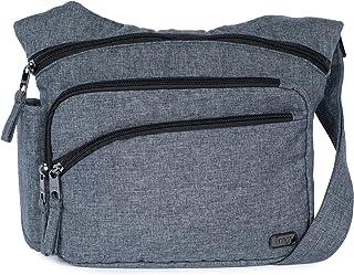 Lug 女式 Sidekick 斜挎包,麻灰色,均码