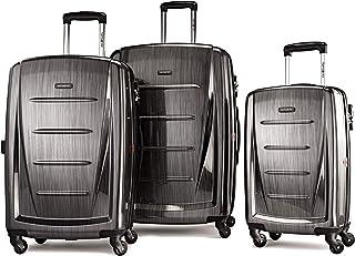 Samsonite 新秀丽 Winfield 2 硬边可扩展行李箱,带旋转轮,煤灰色 - 56847 - 1174
