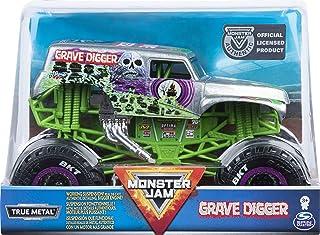 Monster Jam 官方掘墓者怪物卡车,压铸汽车,1:24 比例