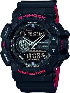 Casio 卡西欧 G-Shock 男士手表 GA-400HR-1AER,黑色/黑色,