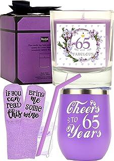 65岁生日快乐礼物,65岁生日礼物,65岁生日礼物,送给妻子、妈妈、她、65岁生日杯,65岁生日杯,65岁生日不倒翁,送给妻子、她、MOT
