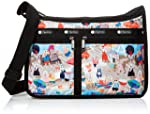 Lesportsac 女式 Classic系列时尚斜挎手提包 7507E183 红色/黄色/绿色/白色/蓝色 25 * 36 * 13cm