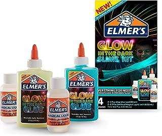 Elmer's Glow-in-the-Dark Slime Kit 膠水(2062242)