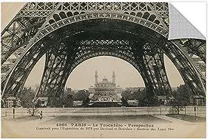 """Tremont Hill Wild Apple""""Le Base De La Tour Eiffel"""" 可移除墙壁艺术壁画 黑色 12X18"""" 2app070a1218p"""