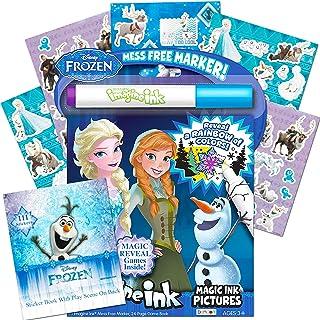 Disney 冰雪奇缘 Imagine 墨水簿和冰雪奇缘贴纸套装