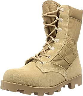 ROSCO 洛斯科 丛林靴 靴子 军靴 G.I. Type Desert Tan Speedlace Jungle Boots (5057 宽幅)