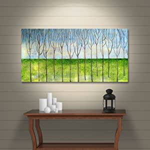 """ArtWall Herb Dickinson's The Grove Gallery Wrapped Canvas, 18 x 36"""""""