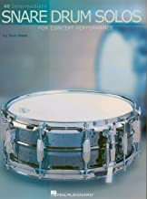 40 Intermediate Snare Drum Solos: for Concert Performance (English Edition)