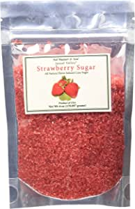 Jansal Valley All Natural Flavor Infused Cane Sugar, Strawberry, 6 Ounce